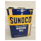 2G. SUNOCO MOTOR OIL CAN