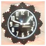 EARLY 26IN. ART DECO CLEVELAND CLOCK