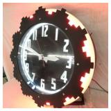 VIEW 6 CLEVELAND NEON CLOCK