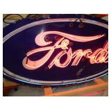 VIEW 2 CLOSE UP PORC. FORD NEON SIGN