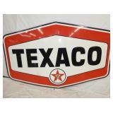 86X54 PORC. TEXACO SIGN