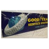 VIEW 2 LEFTSIDE EARLY GOODYEAR STATION SIGN