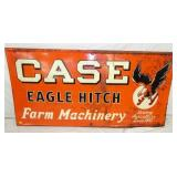 72X36 EMB. CASE EAGLE HITCH FARM MACHINERY SIGN