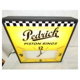 VIEW 3 LIGHTED PEDRICK CLOCK