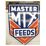 28X40 PORC.  MASTER MIX FEEDS SIGN