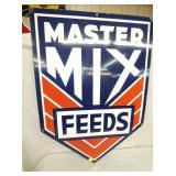 VIEW 2 PORC. MASTER MIX FEEDS SIGN