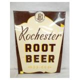 17 1/2X23 1/2 EMB. ROCHESTER ROOT BEER SIGN