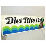 VIEW 3 LEFTSIDE DIET RITE COLA SIGN