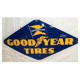 94X52 PORC. GOODYEAR TIRES SIGN