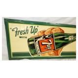 VIEW 2 LEFTSIDE EMB. 7UP SIGN