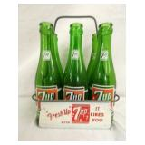 UNUSUAL 7UP 6PK CARRIER