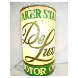 23X36 LIGHTED QUAKER STATE STORE DISPLAY