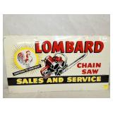 27X15 LOMBARD CHAIN SAW SIGN