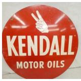 24IN KENDALL MOTOR OILS SIGN