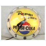 VIEW 2 PEPSI DOUBLE BUBBLE CLOCK