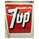 31X36 EMB. 7UP SIGN