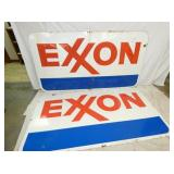 VIEW 3 83X46 EXXON PORC. SIGNS