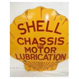 VIEW 2 CLOSEUP MOTOR LUBRICATION SIGN