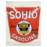 24X30 PORC. SOHIO GASOLINE
