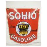 VIEW 3 OTHERSIDE PORC. SOHIO GAS SIGN