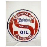 VIEW 2 OTHERSIDE PORC. STANDARD OIL SIGN