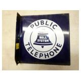 14IN PORC. PUBLIC TELEPHONE FLANGE