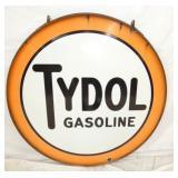 48IN PORC. TYDOL GASOLINE W/ BAND