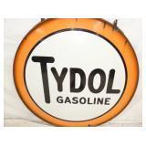 VIEW 2 CLOSEUP TYDOL PORC. GAS SIGN