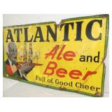 VIEW 3 RIGHTSIDE ATLANTIC ALE SIGN