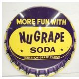 36IN NUGRAPE SODA CAP SIGN