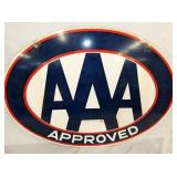 30X23 APPROVED AAA PORC. SIGN