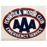 30X23 PORC. PENINSULA MOTOR CLUB AAA
