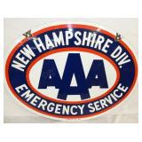 VIEW 2 OTHERSIDE NEW HAMPSHIRE DIV. AAA SIGN
