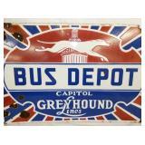 VIEW 4 CLOSE UP PORC. BUS DEPOT GREYHOUND
