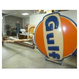 18FT. LIGHTED GULF POLE SIGN