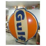 VIEW 2 W/80X78 EMB. GULF SIGN