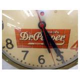 VIEW 2 CLOSEUP DR. PEPPER CLOCK