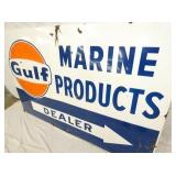 VIEW 3 RIGHTSIDE PORC. MARINE GULF SIGN