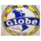 VIEW 2 CLOSEUP GLOBE GASOLINE SIGN