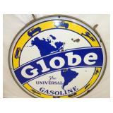 VIEW 4 42IN PORC. GLOBE GAS SIGN