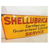 VIEW 2 LEFTSIDE PORC. SHELL SERVICE SIGN