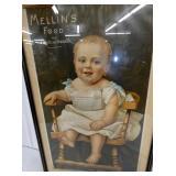 VIEW 2 CLOSEUP MELLINS ADV. W/ BABY