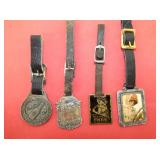 COLLECTION EARLY COCA COLA WATCH FOBS