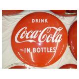 36IN PORC. DRINK COKE IN BOTTLES BUTTON