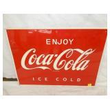 27X20 ENJOY COCA COLA ICE COLD SIGN