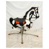 EARLY BLAZE ROCKING HORSE