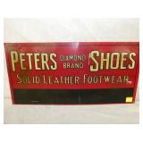 23X11 PETERS SHOES DIAMOND BRAND SIGN