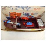 VIEW 2 CLOSEUP HARBOR LAUNCH BOAT W/ BOX