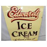 VIEW 2 CLOSEUP 1964 ICE CREAM EMB. SIGN