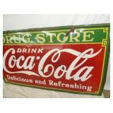 VIEW 3 RIGHTSIDE Coca Cola STORE SIGN